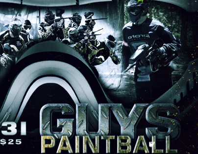Guys Paintball