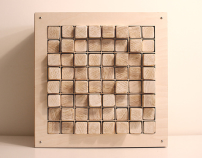 Wooden Pixel Display 64 - WPD64