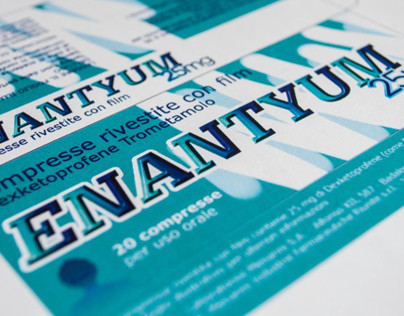 Enantyum Packaging