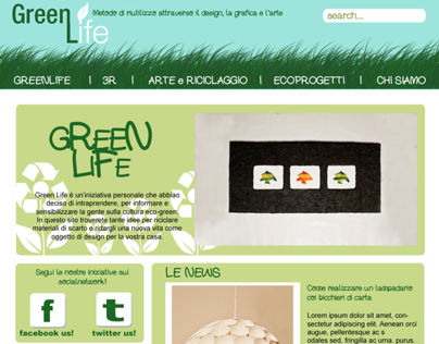 Web Design - GreenLife