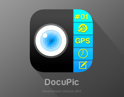 iOS7 App Icon for Docupic app