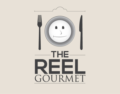 The Reel Gourmet Logo