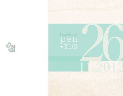 Proposal Story Book Pen & Xia
