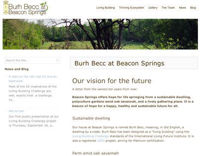 Burh Becc at Beacon Springs