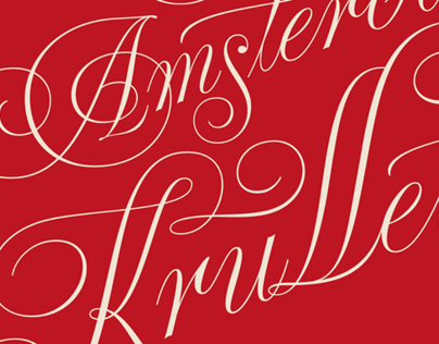 De Amsterdamse Krulletter book cover