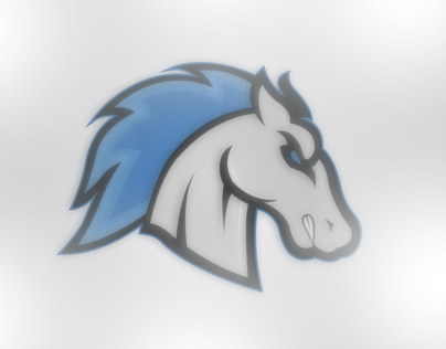Mustang Logo Illustration