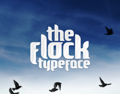 The Flock - Typeface Design