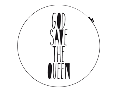 GOD SAVE THE QUEEN - LOGO