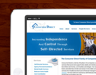 Consumer Direct - Corporate Template