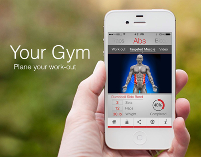 Your Gym - iPhone app
