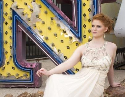 Fashion Photo shoot - Neon Museum