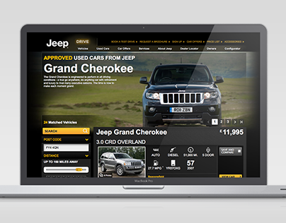 Jeep Used Vehicle Locator