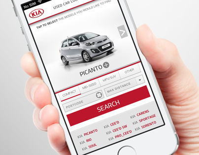 Kia Used Vehicle Locator