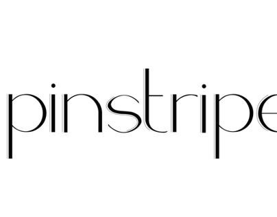 Pinstripe Typeface