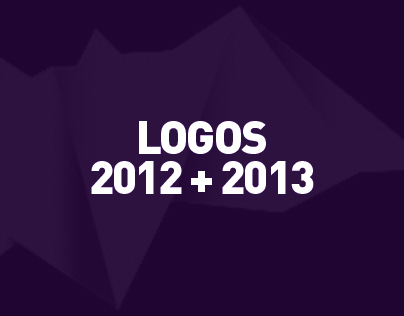 LOGO DESIGN projects 2012 + 2013