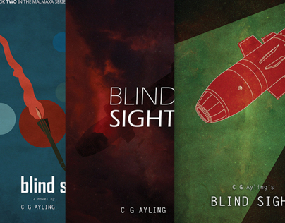 Blind Sight (book cover design)