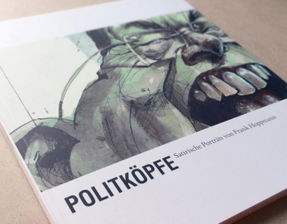 Snapshots of the Exhibition Catalogue POLITKÖPFE