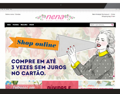Nena Moda Intima - E-commerce