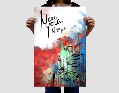 New York — Illustration