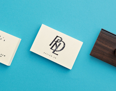 RDL identity and stationery design