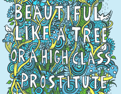 You're so beautiful, like a tree