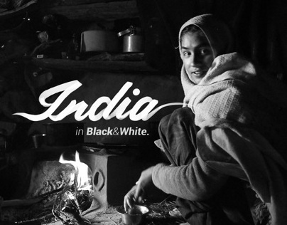INDIA in Black& White