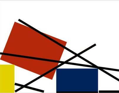 Multimedia App: Piet Mondrian's Art and Re-creatιons
