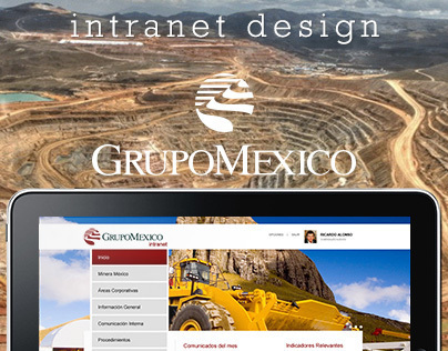 Grupo México - Intranet proposal