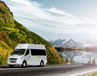 Automotive Retouching - Leisure Travel Vans-Free Spirit