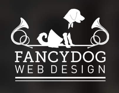FancyDog Web Design Logo by Laura Booth, Freelancer