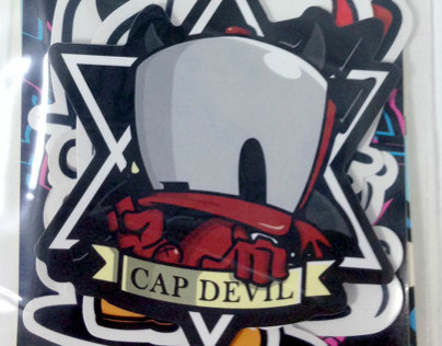 CAP DUCK STICKER B