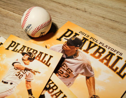 Salt Lake Bees Baseball - Playball Cover Art