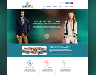 Imagenin Responsive website design
