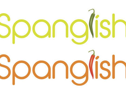 Spanglish: Restaurant Logo