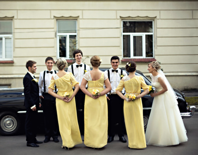 Yellow Summer Wedding