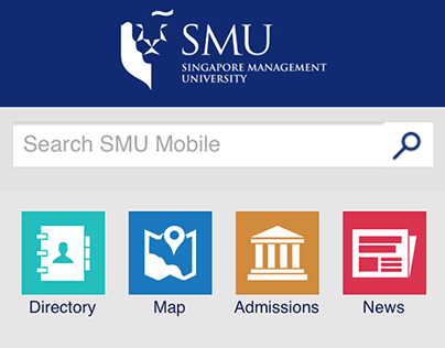 SMU Mobile Web, iOS App and Android App (Yr 2013)