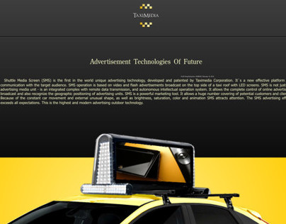 Taximedia LED AD Screens
