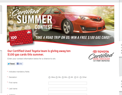 TCUV Certified Summer Contest