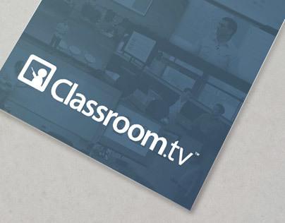 Classroom.tv brochure