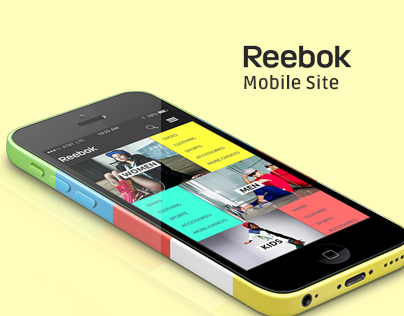 Reebok Mobile Site