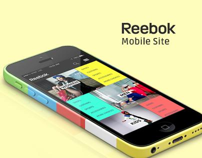 Reebok Mobile Site