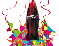 cocacola colorful