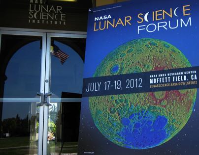 NASA Lunar Science Forum Branding Campaign