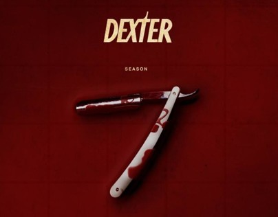 Dexter season 7 fan art poster