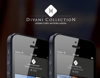DIVANI COLLECTION HOTELS APP