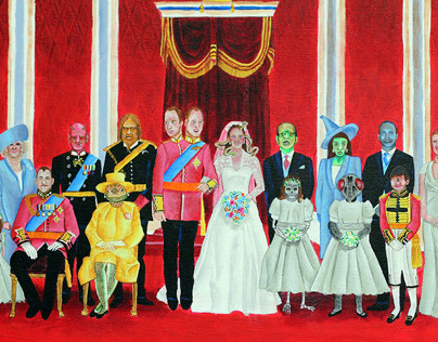 Royal Monster Wedding