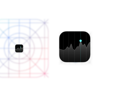 iOS 7 Stocks App Icon [vector giveaway]