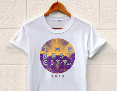 T-shirts The Best City.UA
