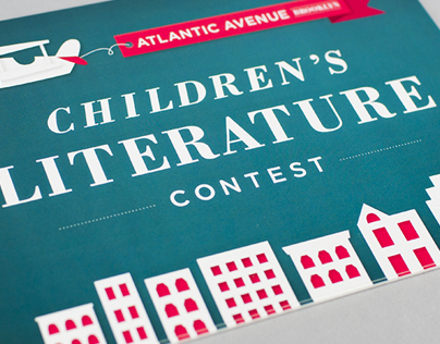 Childrens Literature Contest Postcard