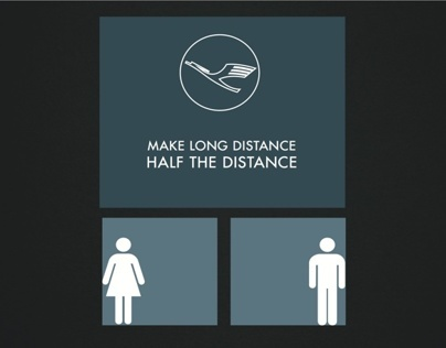 Make Long Distance Half The Distance.